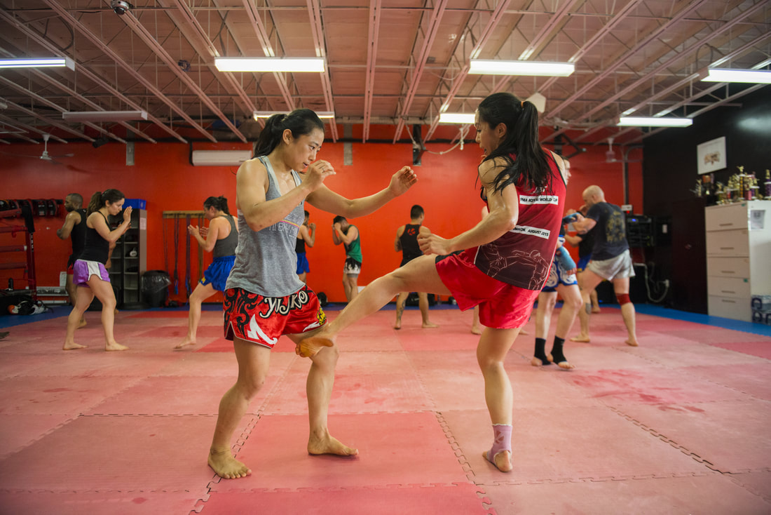 Double dragon sisters class at Krudar